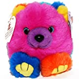 Cosmo the Rainbow Teddy Bear - St Judes - Puffkins Bean Bag Plush