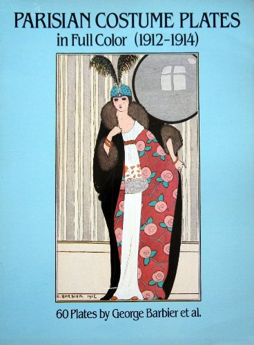 Parisian Costume Plates in Full Color 1912-1914 (English and French (Costumes Fitness Dama)