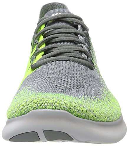 Free NIKE 2017 White electro Grey Men Running Rn wolf 's Multicolour volt Grey Flyknit Green 007 Shoes Competition Cool ggE7rW