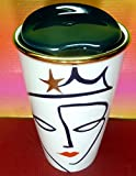 Starbucks 2015 Collectible Anniversary Crown Siren Ceramic Tumbler Mug Double Wall - 12 OZ 355 ML ,Wonderful,New With Sku Label , Limited Edition