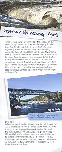 Saint John New Brunswick Canada - SAINT JOHN NEW BRUNSWICK CANADA: EXPERIENCE THE REVERSING RAPIDS /ILLUSTRATED BROCHURE /INFORMATION++++