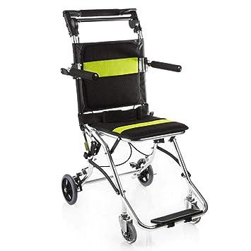 Silla De Ruedas Plegable Para Discapacitados, Sillas De Ruedas Ligeras Para Ancianos, Silla De