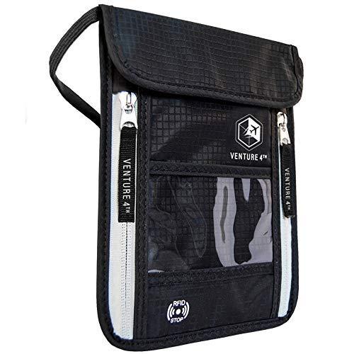 passport holder neck pouch