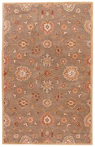 (Jaipur Living Nantes Hand-Tufted Oriental Brown Area Rug (9' X)