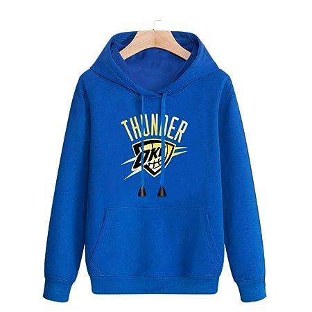 Sudadera Con Capucha De La NBA Oklahoma City Thunder Jersey Traje ...
