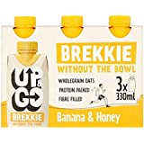 Up & Go Brekkie Banana & Honey 3 x 330ml