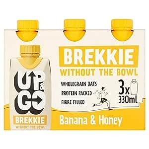 Up & Go Brekkie Banana & Honey 3 x 330ml