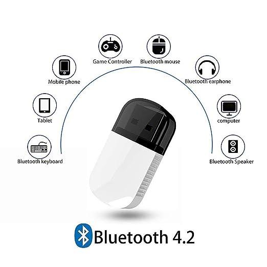 Tarjeta de red, memoria USB Bluetooth 4.2, adaptador WiFi ...