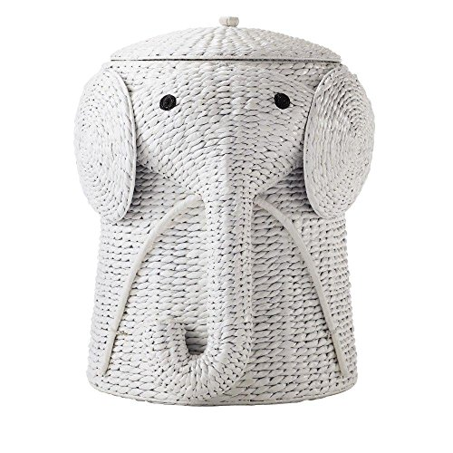 Home Decorators Collection 18 in. W Animal Laundry Hamper in White by Home Decorators Collection