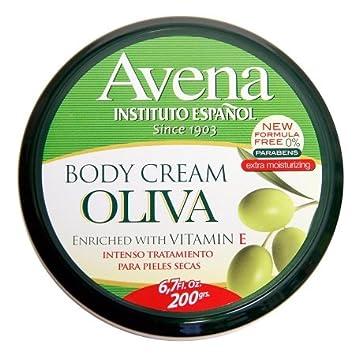 Avena Body Cream Oliva Vitamin E