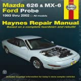 Mazda 626 and Mx-6 Ford Probe, John Haynes, 1563929805