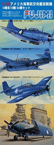 Fujimi 1/700 Grade Up Parts Series No.101 American carrier-based aircraft set(Japan imports)