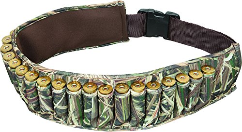 Allen Waterfowl Camo Shotgun Shell Belt, Holds 25 Shells