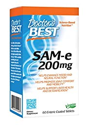 Doctor\'s Best Sam-e 200 mg, 60-Count