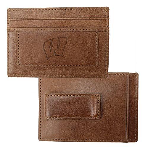 University of Wisconsin Credit Card Holder & Money Clip
