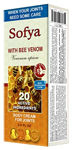"""Sofya"" Cream for Joints with Bee Venom 75ml/2.5 Fl Oz"