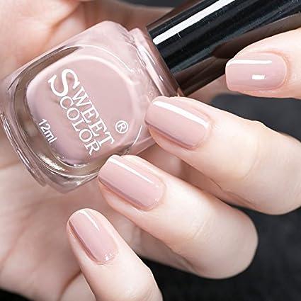 Buy Generic Sweet Color Nail Polish Nude Pink Varnish Polish Online ...