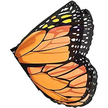 Douglas Orange Monarch Wings