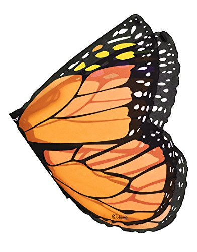 Butterfly Costume Accessories (Orange Monarch Wings)
