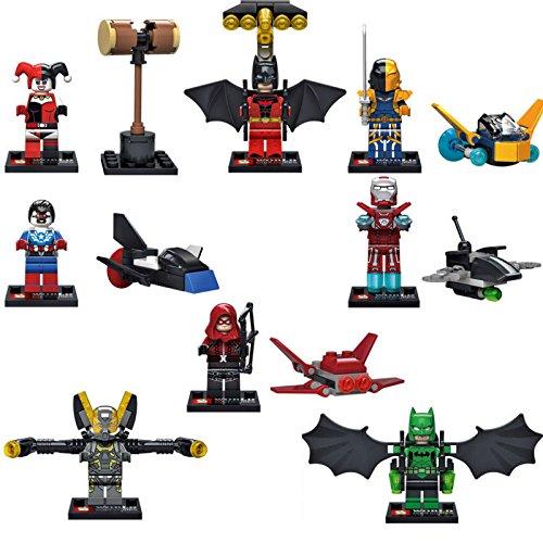 8pcs/lot super hero figure MiniFigures Building block Toys childer gift SY295