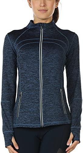 icyzone Womens Running Workout Jacket