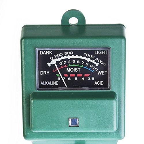 [Light Water Measure Flower Test Meter Satisfy pH Soil Tester] (Water Meter Costume)