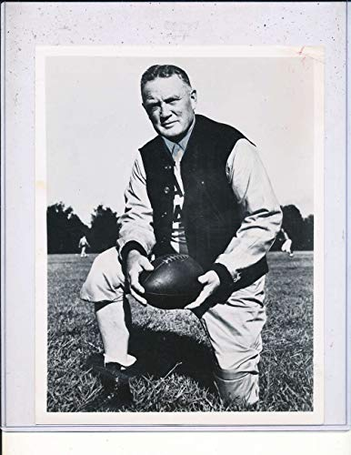 12/28 1952 Red Drew Alabama football coach type 1 wire photo 7x9 - Type Coach