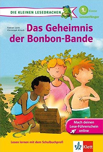 Klett Das Geheimnis der Bonbon-Bande: Die kleinen Lesedrachen, Lesen lernen, 1. Klasse, ab 6 Jahren