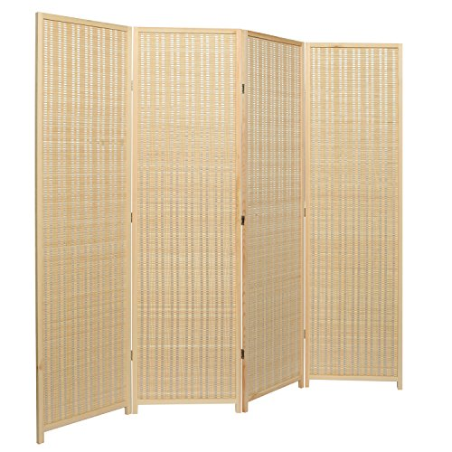Review Decorative Freestanding Beige Woven