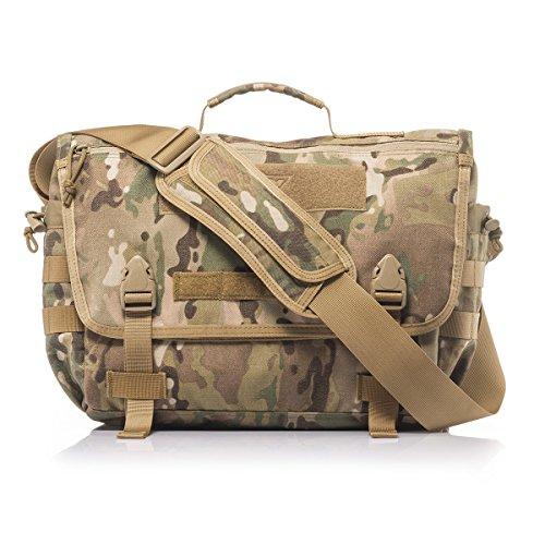 YAKEDA Messenger Tactical Bag Tactical Rush Delivery Messenger Style Bag 8.5L-BKF-040