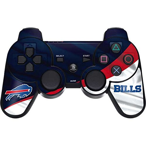 - Skinit Buffalo Bills PS3 Dual Shock Wireless Controller Skin - Officially Licensed NFL Gaming Decal - Ultra Thin, Lightweight Vinyl Decal Protection