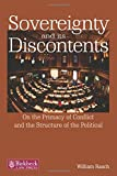 img - for Sovereignty and its Discontents: On the Primacy of Conflict and the Structure of the Political (Birkbeck Law Press) book / textbook / text book