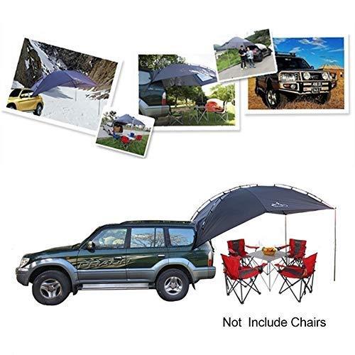 EGECL Car Tent - Folding Sunshade Carports - Anti-UV Roof Top Tent - Car Sun Shelter Awning - Hiking, Climbing, Fishing by EGECL (Image #5)