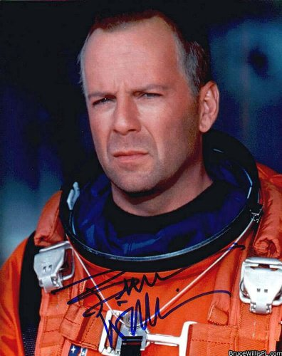 Bruce Willis in Armageddon Signed Autographed 8 X 10 Reprint Photo - Mint Condition