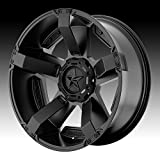 XD Series by KMC Wheels XD811 Rockstar II Satin Black Wheel With Accents (20x9/6x135, 139.7mm, 30mm offset)