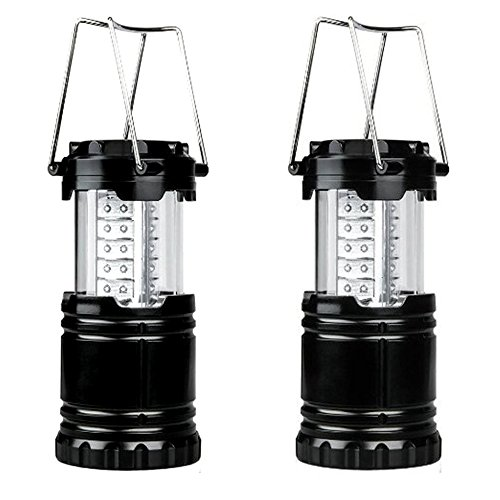 Hanging Reactor (Hatori 30 LED Camping Lantern Indoor Outdoor Hanging Battery Operated, Collapsible Emergency Lamp for Tent,Hiking,Outages(Pack of 2))