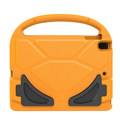 iPad Mini 1 2 3 4 Kiddie Case, Dteck Lightweight [Kids Friendly] Handle Convertible Stand Shockproof Case Protective Cover for Apple iPad Mini 1/2/3/4, Orange