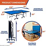 Indoor 15mm Table Tennis, Ping Pong Table with Net