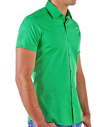 "Redbridge by Cipo & Baxx Herren Hemd ""RB-2156"" green"