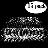 Laocui C-Shape Cheek Retractors 15 Pack, Size M