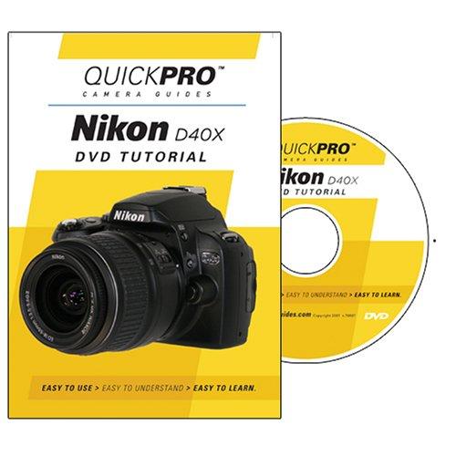 Nikon D40X Instructional DVD by QuickPro Camera ()