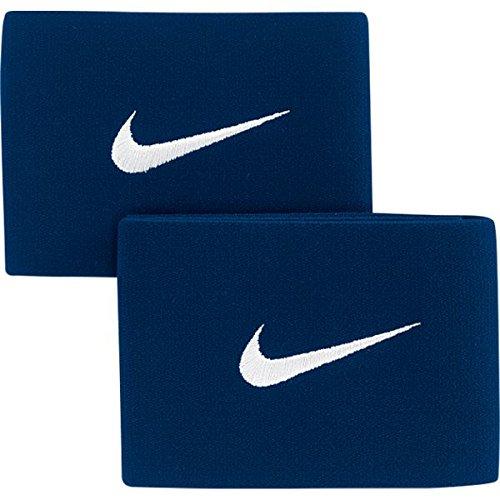 (Nike Men's Guard Stay Ii Football Shinguard Holder One Size Navy Blue/Silver)