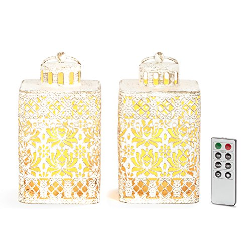 Flameless Lanterns Distressed Batteries Included product image