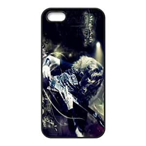 JS-11 Music Band Megadeth Black Print Hard Shell Case for iPhone 5S