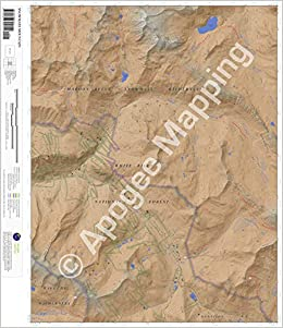Snowmass Mountain, Colorado 7 5 Minute Topographic Map - Waterproof