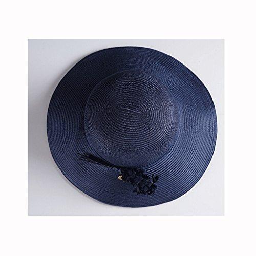 Cappello Zhaoshunli Marina colore Sole Femminile Estivo Blue Da rWfgqFRr