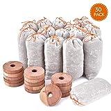 Homode Cedar Blocks for Clothes Storage, Natural