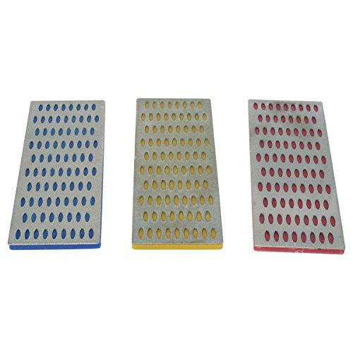 Diamond Sharpening Blocks, 3 pc set