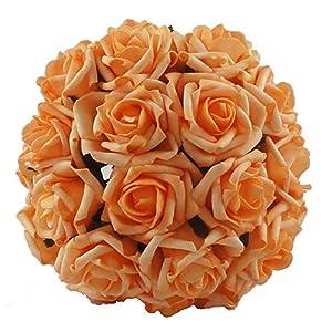 Lily Garden 2 Dozen Rose Bridal Wedding Bouquets Artificial Flower DIY 1