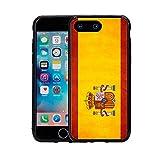 Spain Spanish Grunge Flag For Iphone 7 P